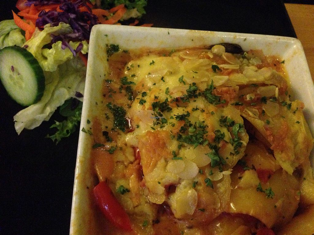 """Photo of Rainbow Vegetarian Cafe  by <a href=""""/members/profile/EIIie"""">EIIie</a> <br/>Lasagna Bourgignon <br/> August 1, 2017  - <a href='/contact/abuse/image/630/287530'>Report</a>"""