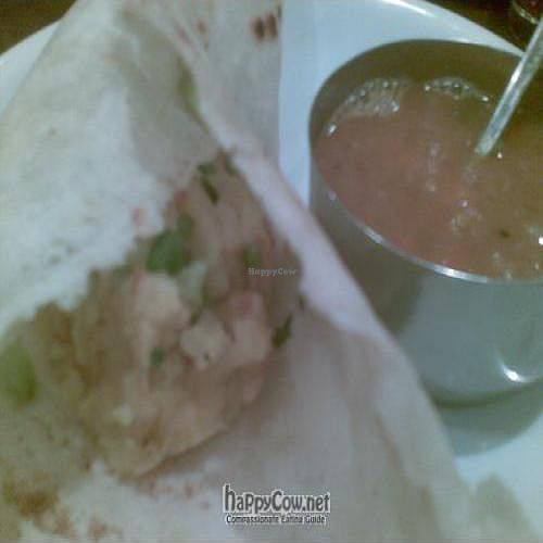 """Photo of Jyoti's Vegetarian  by <a href=""""/members/profile/cooking4vegans"""">cooking4vegans</a> <br/>Dosa <br/> January 9, 2010  - <a href='/contact/abuse/image/637/3320'>Report</a>"""