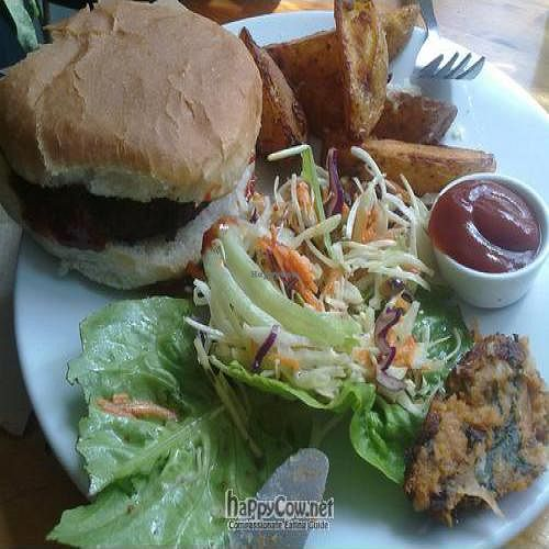 """Photo of The Warehouse Cafe  by <a href=""""/members/profile/VeganBeHappy"""">VeganBeHappy</a> <br/> July 22, 2011  - <a href='/contact/abuse/image/640/9755'>Report</a>"""