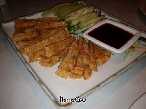 """Photo of Veggie World  by <a href=""""/members/profile/bazjscott"""">bazjscott</a> <br/>Crispy Aromatic Duck <br/> October 7, 2012  - <a href='/contact/abuse/image/649/38772'>Report</a>"""