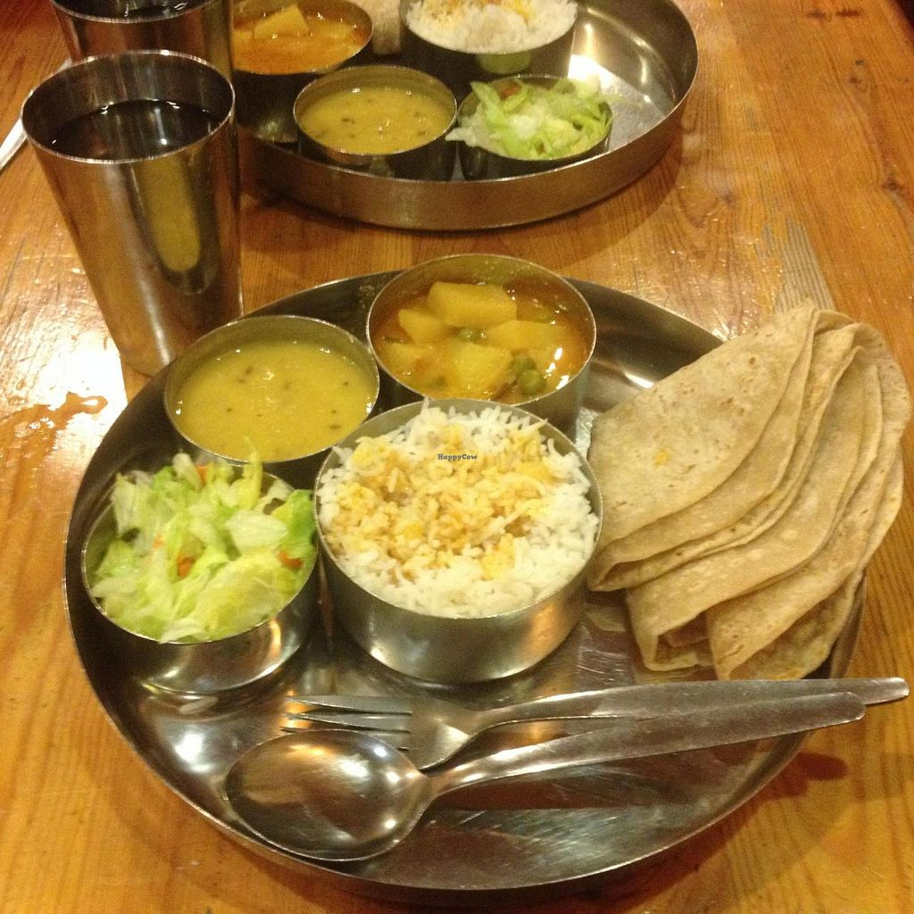 """Photo of Diwana Bhel Poori House  by <a href=""""/members/profile/RubyFriel"""">RubyFriel</a> <br/>Thali of the day <br/> November 2, 2014  - <a href='/contact/abuse/image/697/84417'>Report</a>"""