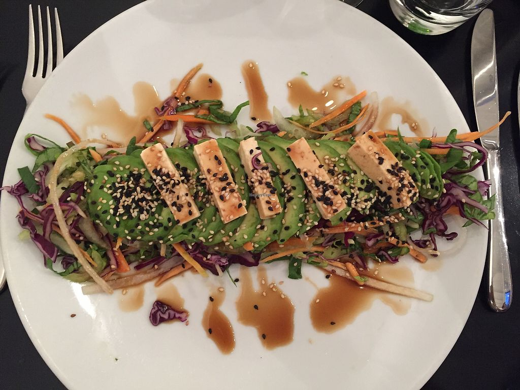 """Photo of The Gate - Hammersmith  by <a href=""""/members/profile/AnniR"""">AnniR</a> <br/>Green Dragon Salad (vegan)  <br/> July 31, 2017  - <a href='/contact/abuse/image/698/286898'>Report</a>"""