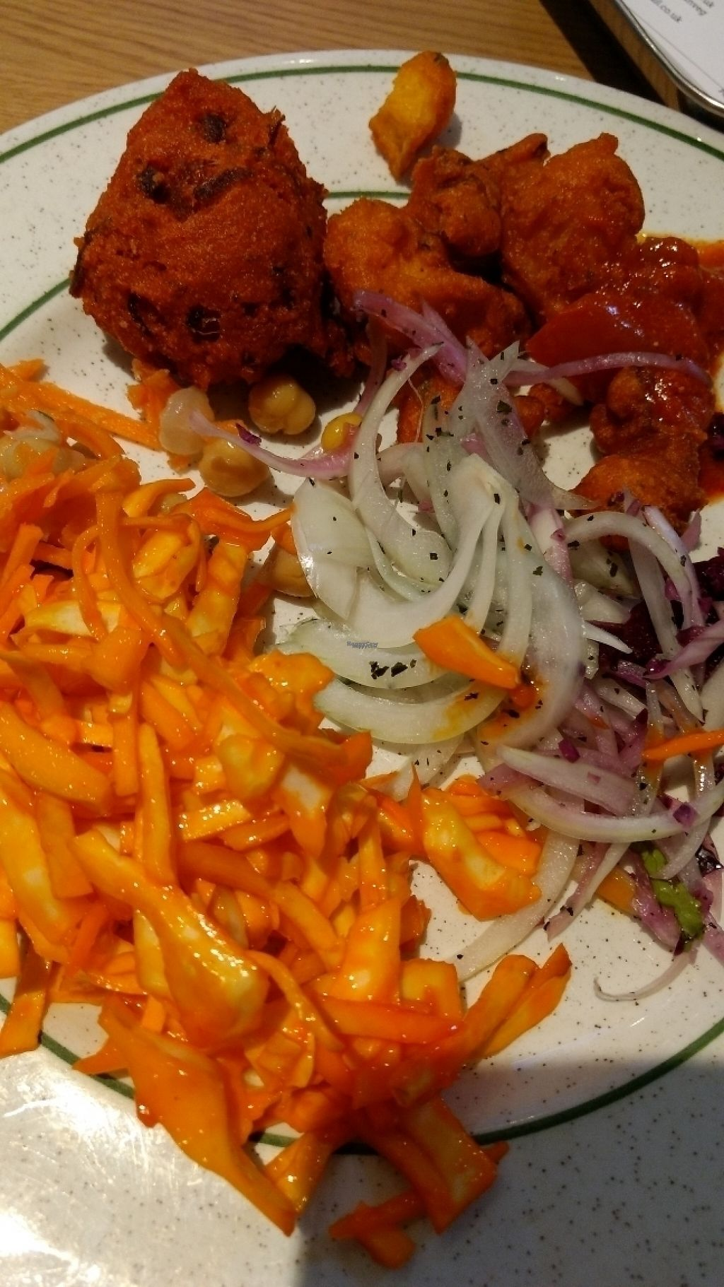 """Photo of Indian Veg Bhelpoori House  by <a href=""""/members/profile/craigmc"""">craigmc</a> <br/>mixed plate <br/> March 20, 2017  - <a href='/contact/abuse/image/699/238964'>Report</a>"""
