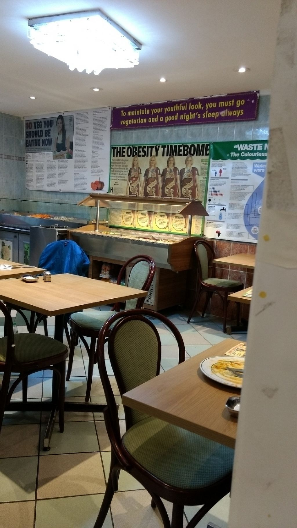"""Photo of Indian Veg Bhelpoori House  by <a href=""""/members/profile/craigmc"""">craigmc</a> <br/>Decor <br/> March 20, 2017  - <a href='/contact/abuse/image/699/238966'>Report</a>"""