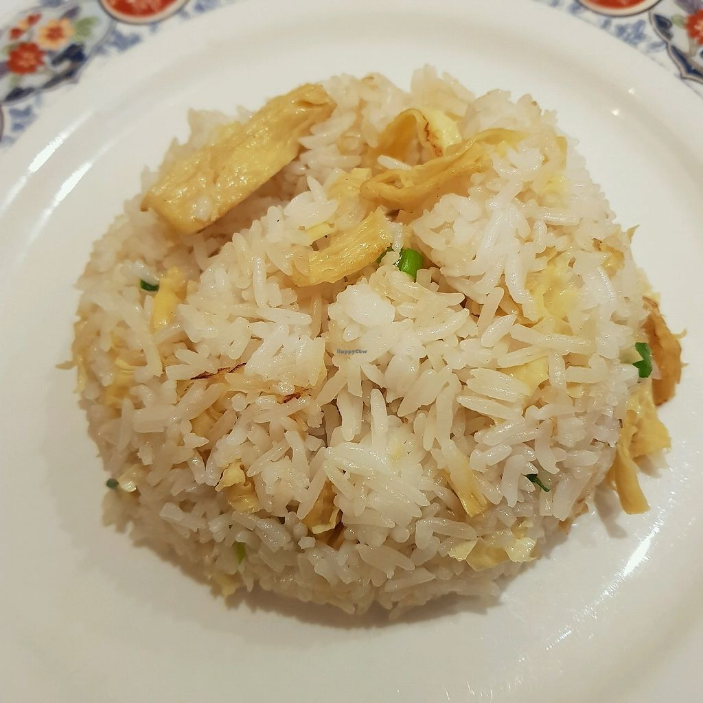 """Photo of Loving Hut  by <a href=""""/members/profile/Sassyvegan"""">Sassyvegan</a> <br/>egg fried rice <br/> October 7, 2017  - <a href='/contact/abuse/image/703/312881'>Report</a>"""