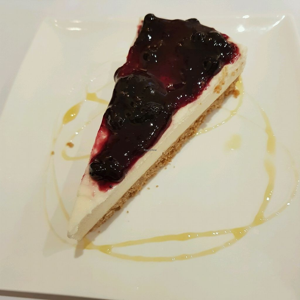 """Photo of Loving Hut  by <a href=""""/members/profile/Sassyvegan"""">Sassyvegan</a> <br/>lemon cheesecake <br/> October 7, 2017  - <a href='/contact/abuse/image/703/312882'>Report</a>"""