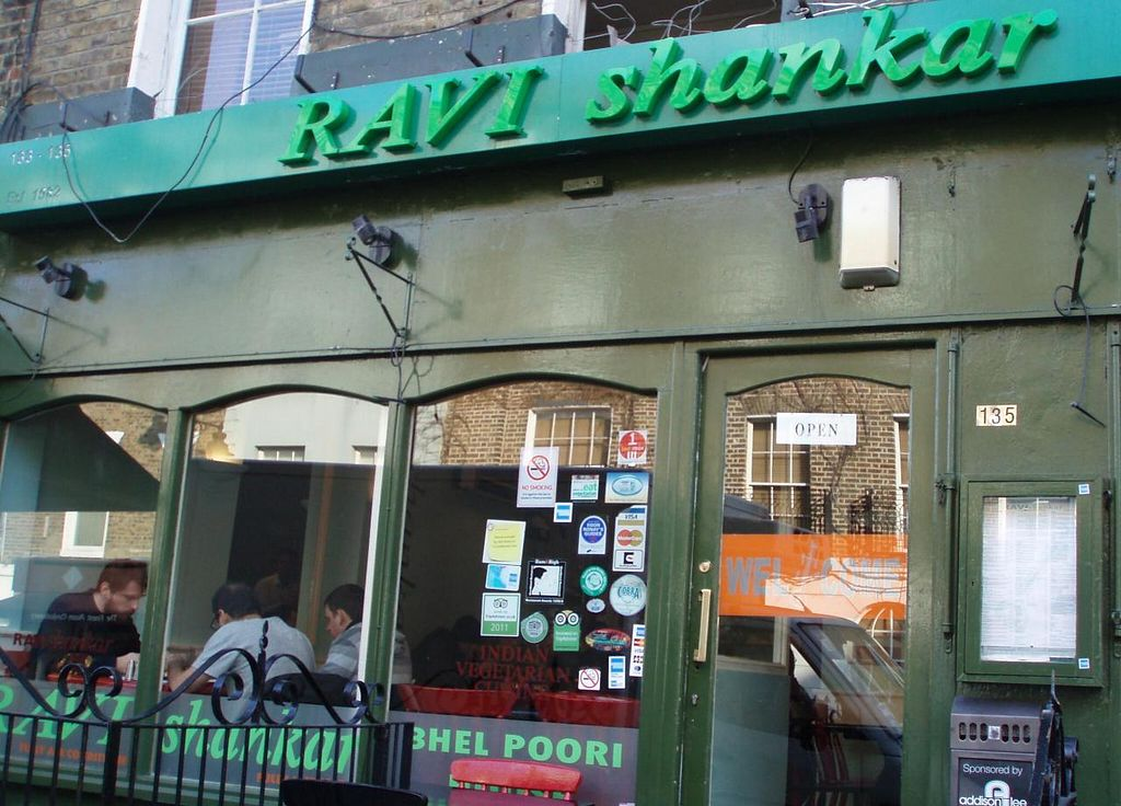 "Photo of Ravi Shankar Restaurant  by <a href=""/members/profile/Pamina"">Pamina</a> <br/>Ravi Shankar, London <br/> May 14, 2014  - <a href='/contact/abuse/image/705/69972'>Report</a>"