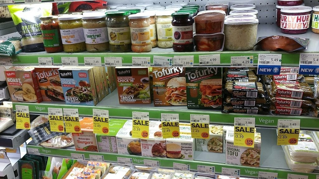 """Photo of Whole Foods Market - Clapham Junction  by <a href=""""/members/profile/jollypig"""">jollypig</a> <br/>Tofurky! <br/> April 29, 2017  - <a href='/contact/abuse/image/736/253710'>Report</a>"""