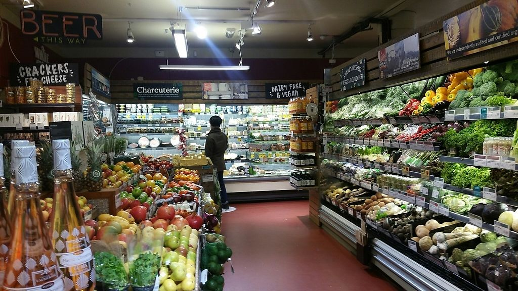 """Photo of Whole Foods Market - Clapham Junction  by <a href=""""/members/profile/jollypig"""">jollypig</a> <br/>Veg <br/> April 29, 2017  - <a href='/contact/abuse/image/736/253711'>Report</a>"""