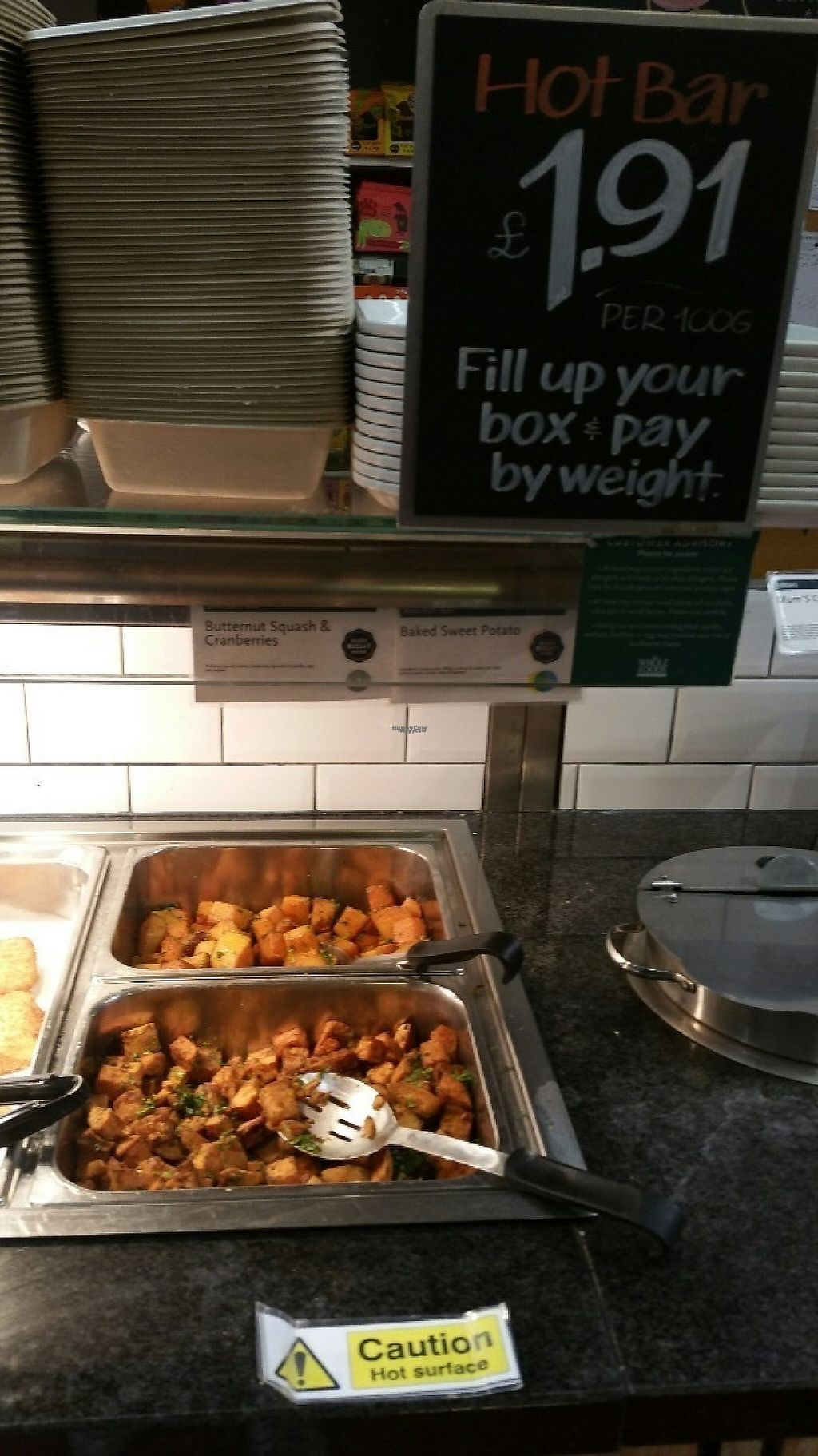 """Photo of Whole Foods Market - Clapham Junction  by <a href=""""/members/profile/jollypig"""">jollypig</a> <br/>Veggie grub <br/> April 29, 2017  - <a href='/contact/abuse/image/736/253712'>Report</a>"""