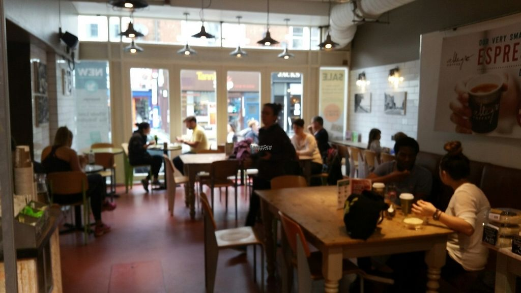 """Photo of Whole Foods Market - Clapham Junction  by <a href=""""/members/profile/jollypig"""">jollypig</a> <br/>The cafe area <br/> April 29, 2017  - <a href='/contact/abuse/image/736/253713'>Report</a>"""