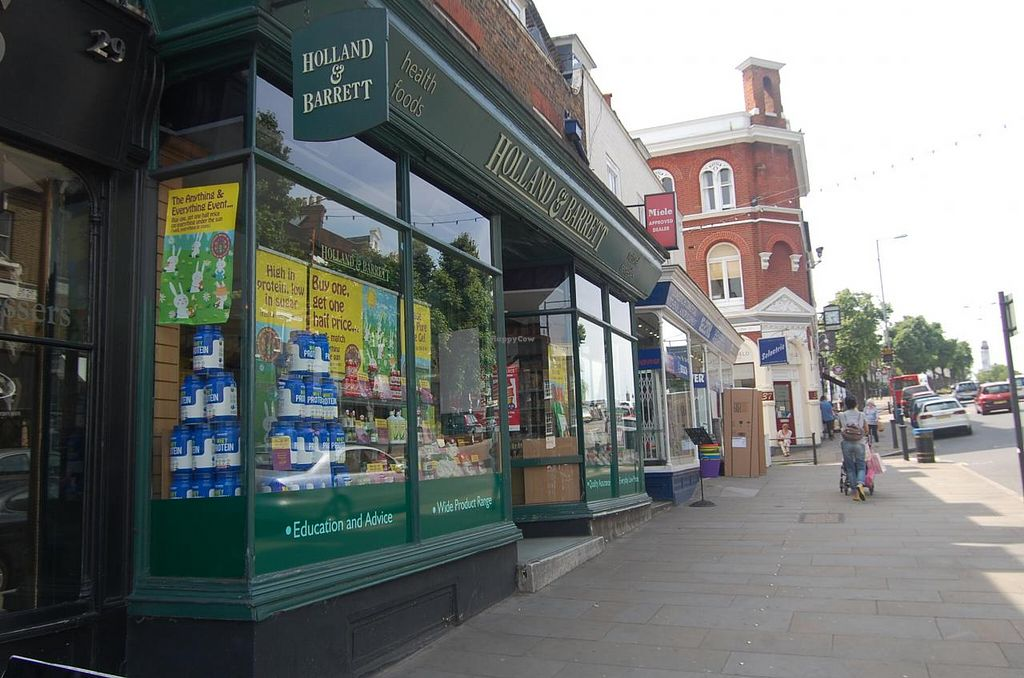 "Photo of Holland and Barrett - Blackheath  by <a href=""/members/profile/Clare"">Clare</a> <br/>Store front <br/> June 25, 2015  - <a href='/contact/abuse/image/737/107218'>Report</a>"