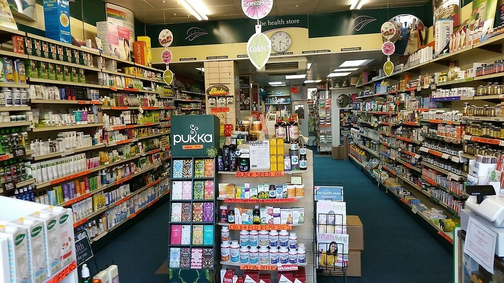 """Photo of The Health Store  by <a href=""""/members/profile/jollypig"""" class=""""title__title"""">jollypig</a> <br/>In the shop <br/> April 26, 2017  - <a href='/contact/abuse/image/741/252810'>Report</a>"""