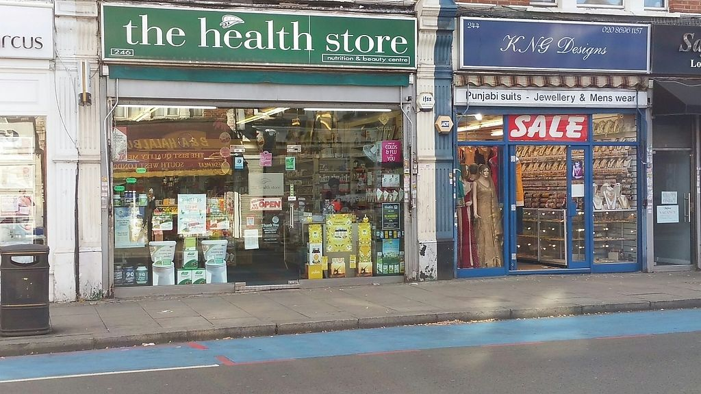 """Photo of The Health Store  by <a href=""""/members/profile/jollypig"""" class=""""title__title"""">jollypig</a> <br/>From across the road <br/> April 26, 2017  - <a href='/contact/abuse/image/741/252811'>Report</a>"""
