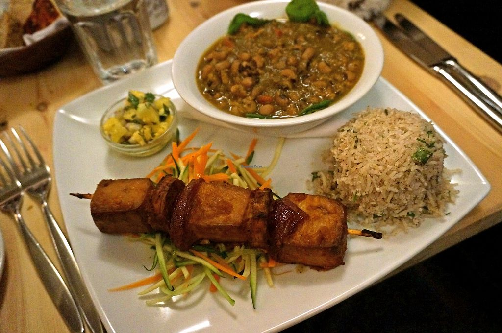"Photo of manna cuisine  by <a href=""/members/profile/Ricardo"">Ricardo</a> <br/>Caribbean platter <br/> September 25, 2017  - <a href='/contact/abuse/image/749/308348'>Report</a>"