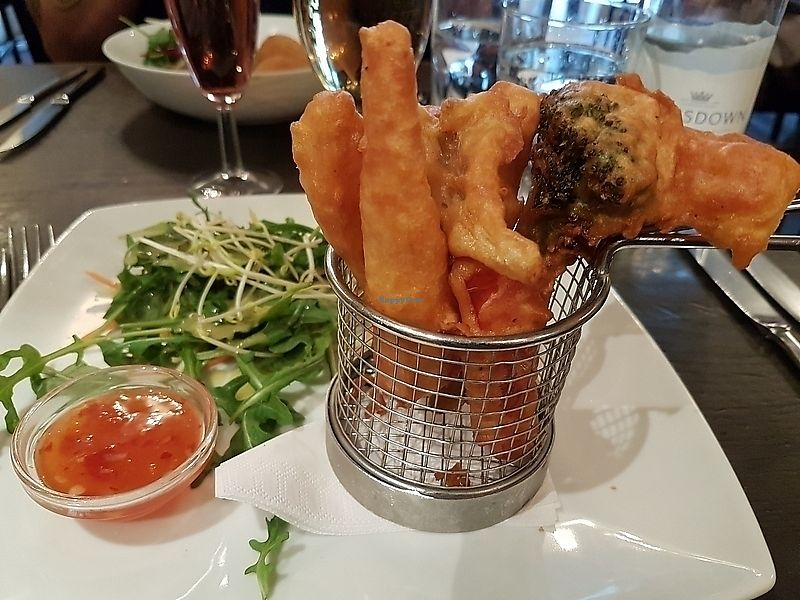 "Photo of manna cuisine  by <a href=""/members/profile/TrudiBruges"">TrudiBruges</a> <br/>starter: vegetable tempura, Manna, London <br/> November 28, 2017  - <a href='/contact/abuse/image/749/330019'>Report</a>"
