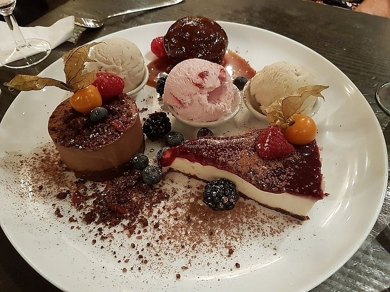 "Photo of manna cuisine  by <a href=""/members/profile/TrudiBruges"">TrudiBruges</a> <br/>mezze dessert plate (for two), Manna, London <br/> November 28, 2017  - <a href='/contact/abuse/image/749/330020'>Report</a>"