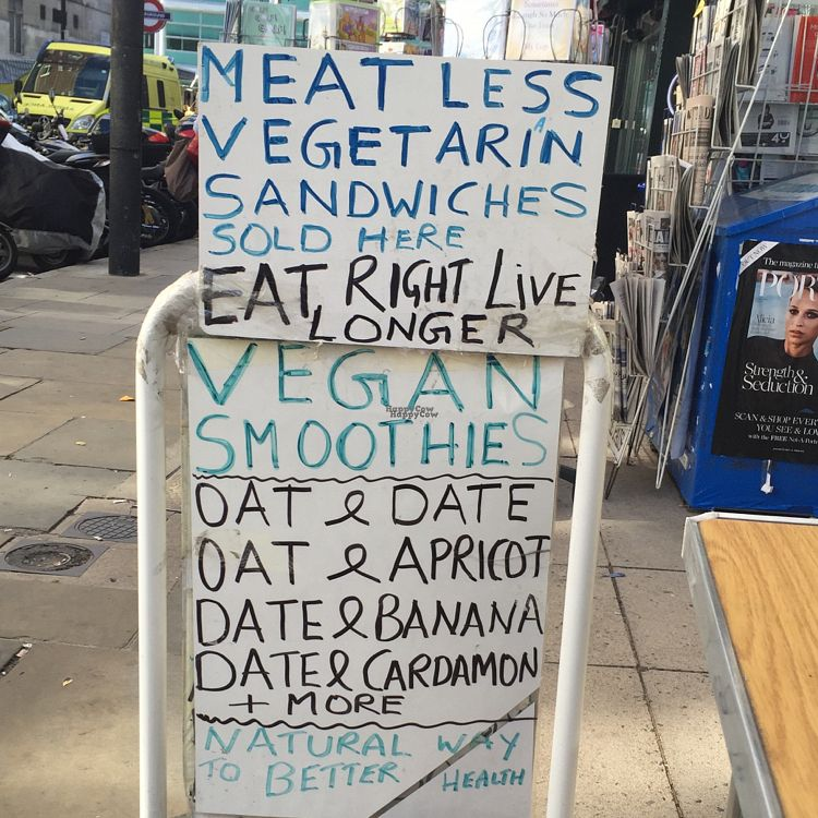 """Photo of Health Food Centre  by <a href=""""/members/profile/The%20London%20Vegan"""">The London Vegan</a> <br/>smoothies and more <br/> October 5, 2016  - <a href='/contact/abuse/image/756/179837'>Report</a>"""