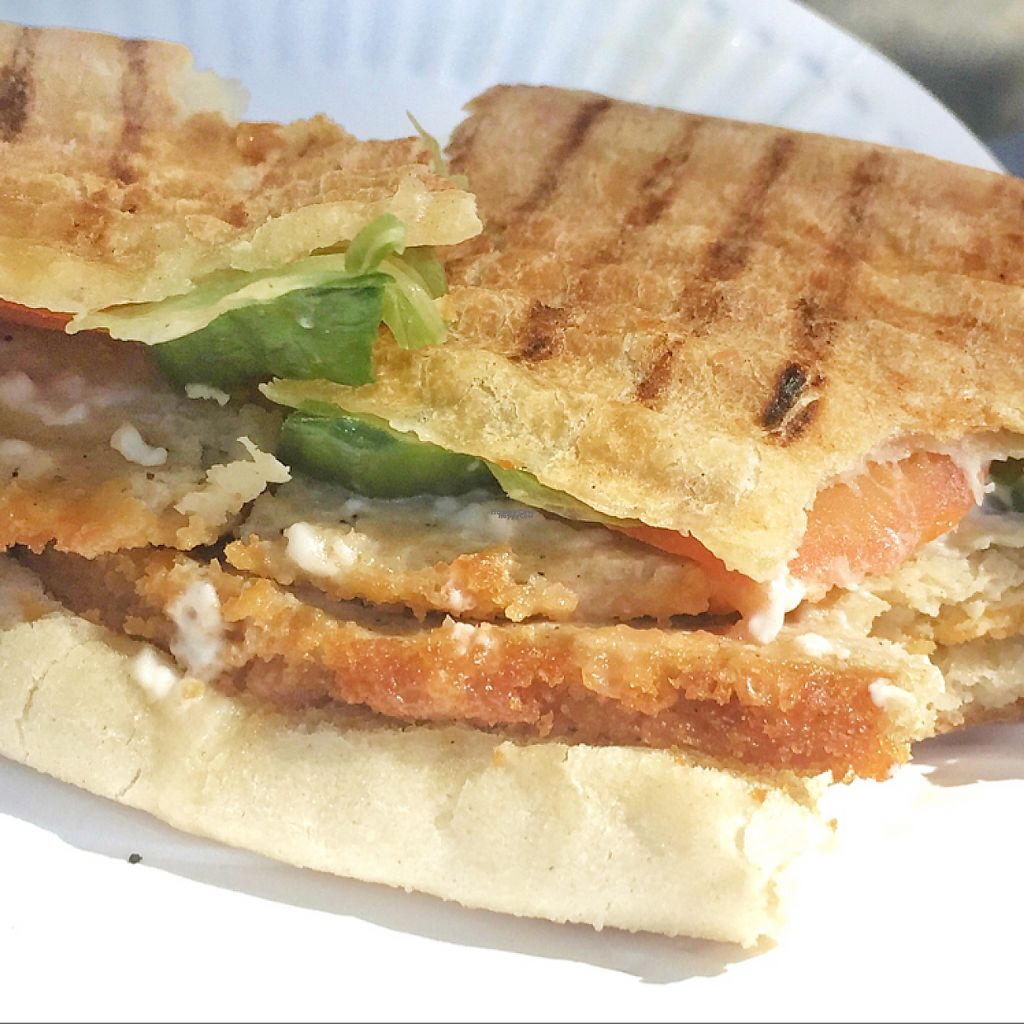 """Photo of Health Food Centre  by <a href=""""/members/profile/guillehdezp"""">guillehdezp</a> <br/>Amazing vegan paninis!!  <br/> February 5, 2017  - <a href='/contact/abuse/image/756/222760'>Report</a>"""