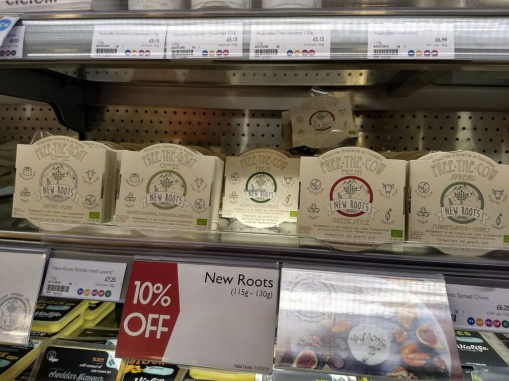 """Photo of Planet Organic  by <a href=""""/members/profile/TrudiBruges"""">TrudiBruges</a> <br/>vegan cheeses <br/> March 31, 2018  - <a href='/contact/abuse/image/757/378913'>Report</a>"""