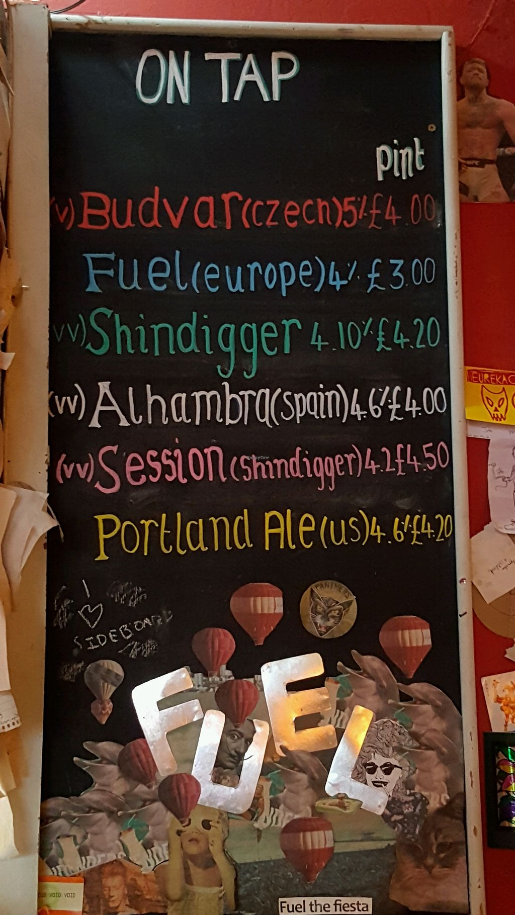 """Photo of Fuel  by <a href=""""/members/profile/Clare"""">Clare</a> <br/>beer menu <br/> April 23, 2018  - <a href='/contact/abuse/image/760/389924'>Report</a>"""