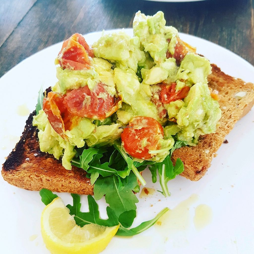 """Photo of The Zoo  by <a href=""""/members/profile/KatyEvelyn"""">KatyEvelyn</a> <br/>smashed avocado and roast toms on toast!  <br/> September 12, 2017  - <a href='/contact/abuse/image/775/303636'>Report</a>"""