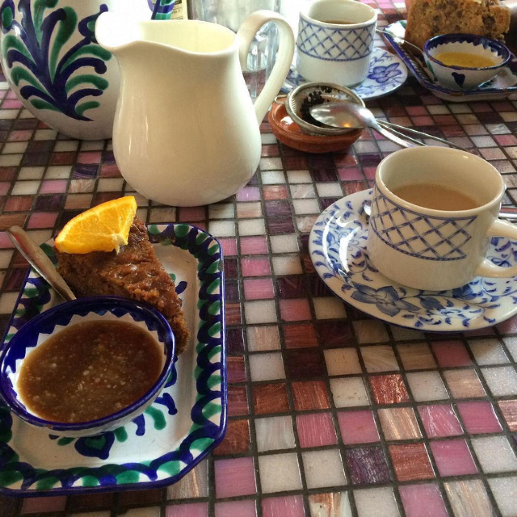 """Photo of El Piano  by <a href=""""/members/profile/lysi"""">lysi</a> <br/>Sticky toffee pudding & chai tea <br/> April 6, 2015  - <a href='/contact/abuse/image/780/98013'>Report</a>"""