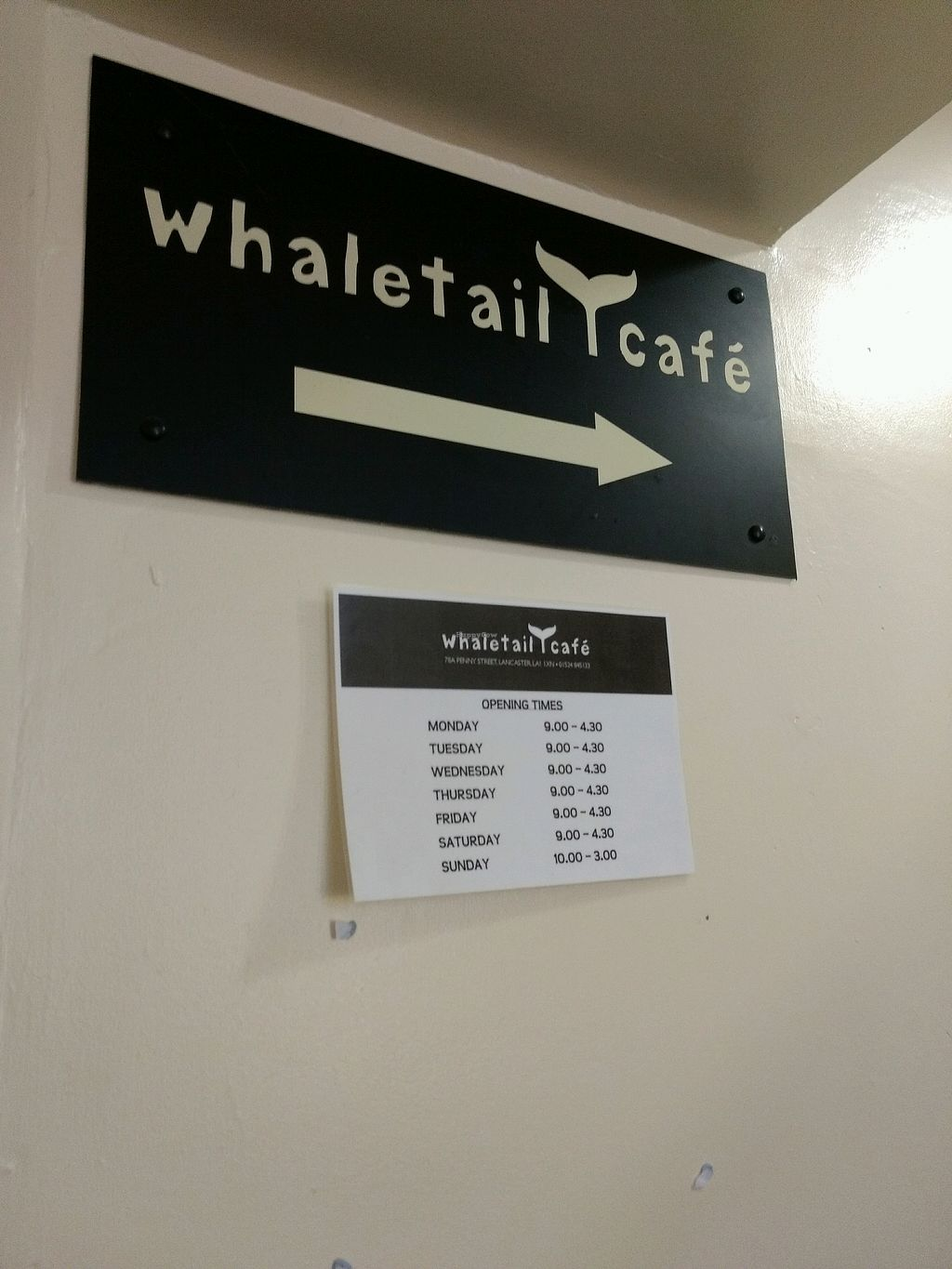 """Photo of The Whale Tail Cafe  by <a href=""""/members/profile/craigmc"""">craigmc</a> <br/>this way <br/> April 8, 2018  - <a href='/contact/abuse/image/791/382438'>Report</a>"""