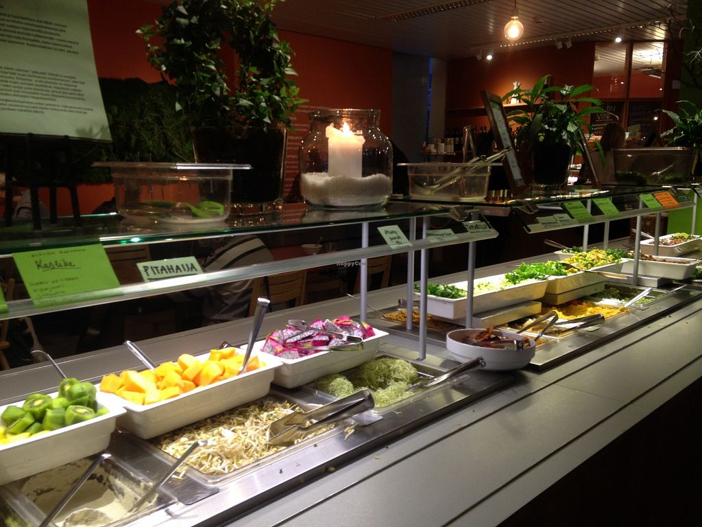 """Photo of Silvoplee  by <a href=""""/members/profile/FruitMonstar"""">FruitMonstar</a> <br/>Buffet - most are vegan dishes  <br/> January 21, 2016  - <a href='/contact/abuse/image/844/133253'>Report</a>"""
