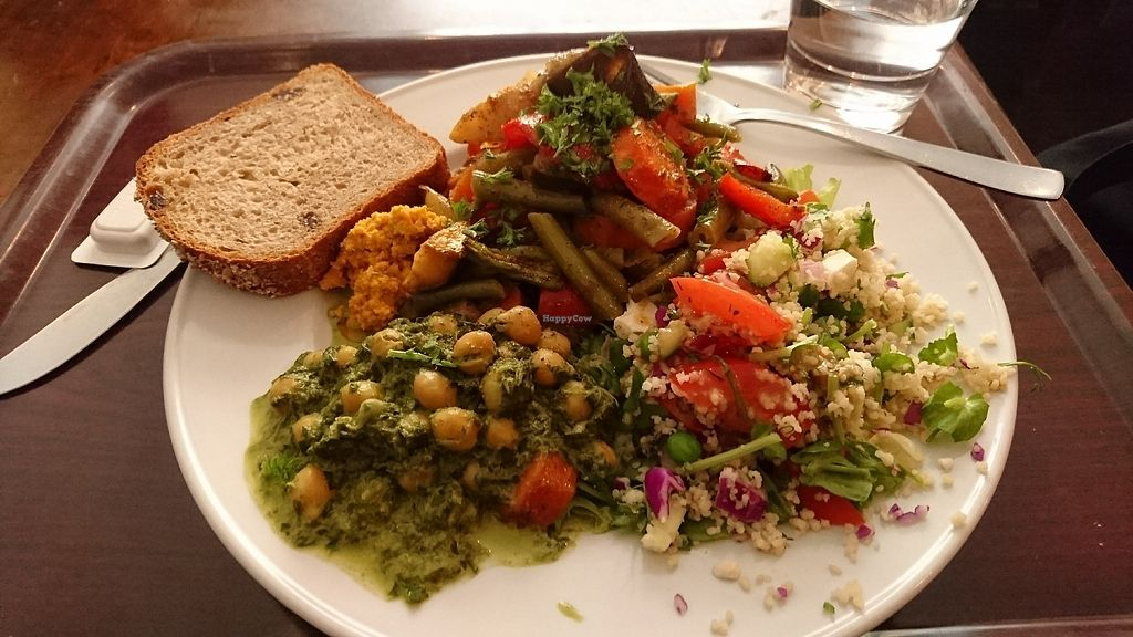 """Photo of Zucchini Vegetarian Cafe  by <a href=""""/members/profile/cyberlp23"""">cyberlp23</a> <br/>Lunch deal: a plate full of veggies <br/> August 31, 2017  - <a href='/contact/abuse/image/846/299408'>Report</a>"""