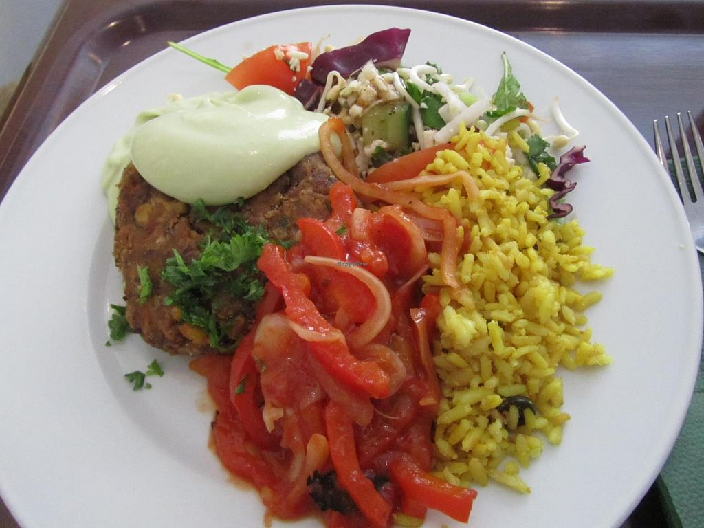 """Photo of Zucchini Vegetarian Cafe  by <a href=""""/members/profile/CLRtraveller"""">CLRtraveller</a> <br/>another meal-of-the day <br/> August 10, 2014  - <a href='/contact/abuse/image/846/76583'>Report</a>"""