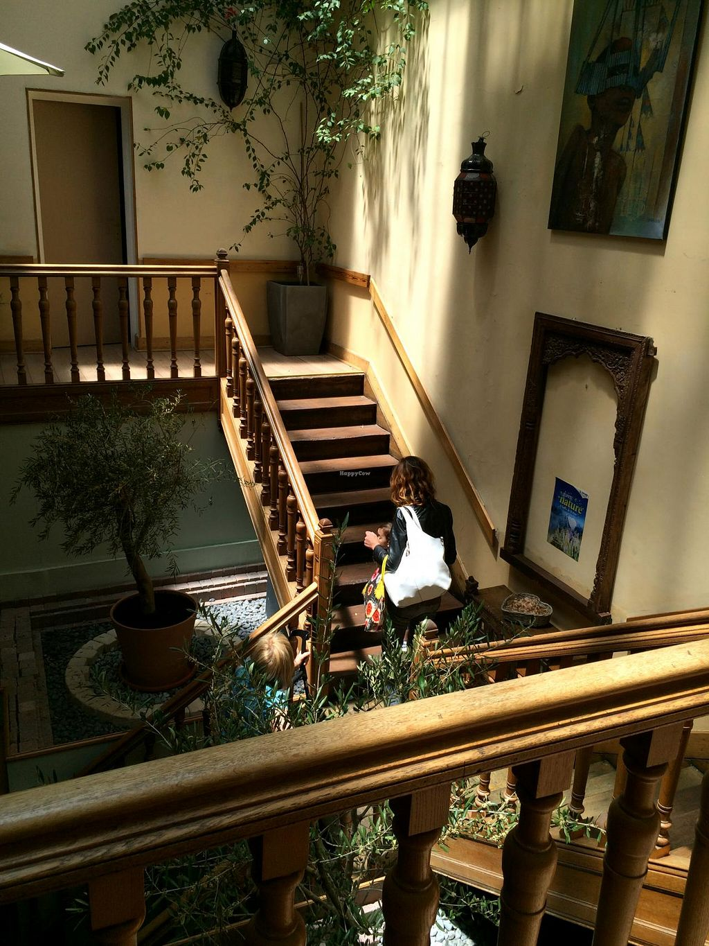 """Photo of CLOSED: Country Life  by <a href=""""/members/profile/LisaCupcake"""">LisaCupcake</a> <br/>Stairs going to the restaurant on the upper level <br/> June 26, 2015  - <a href='/contact/abuse/image/858/107336'>Report</a>"""