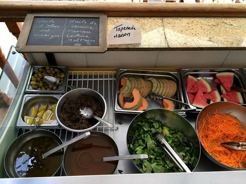 """Photo of CLOSED: Country Life  by <a href=""""/members/profile/LisaCupcake"""">LisaCupcake</a> <br/>Buffet - cold items (partial view, one of two refrigerator units) <br/> June 26, 2015  - <a href='/contact/abuse/image/858/107338'>Report</a>"""