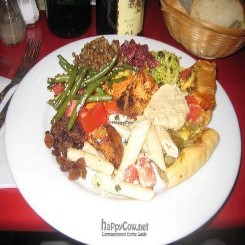 """Photo of La Faim des Haricots - Puits Vert  by <a href=""""/members/profile/beavers"""">beavers</a> <br/>Spoiled for choice - mouth watering salad at La Faim des Haricots in the centre of Toulouse <br/> September 9, 2009  - <a href='/contact/abuse/image/882/2625'>Report</a>"""