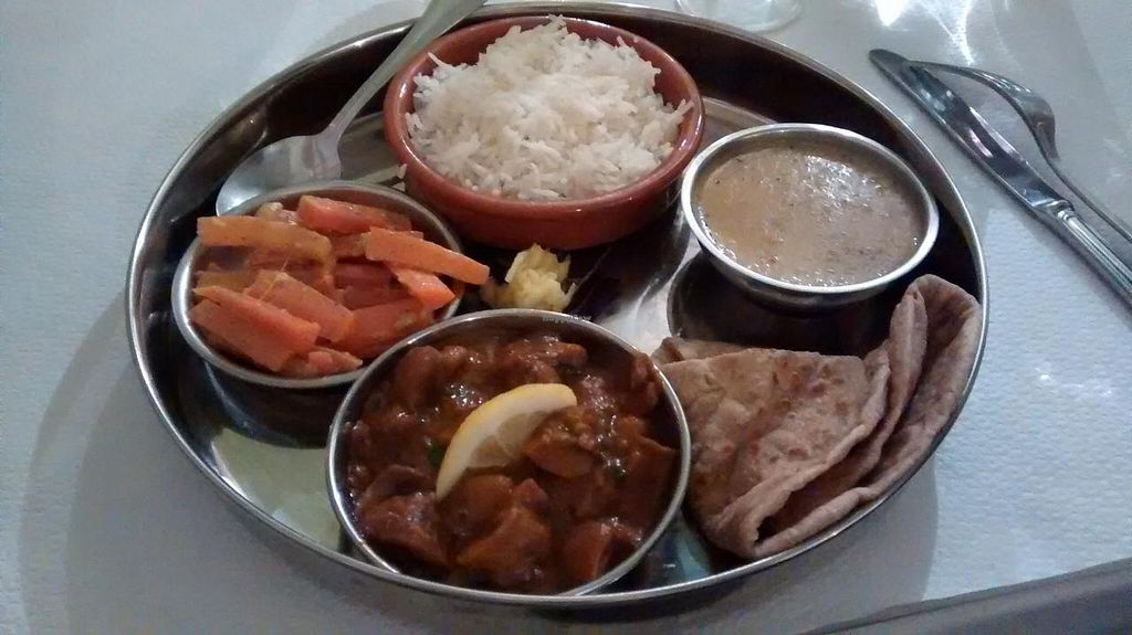 "Photo of Manger Autrement  by <a href=""/members/profile/JonJon"">JonJon</a> <br/>Vegan thali of the day <br/> February 28, 2015  - <a href='/contact/abuse/image/883/94381'>Report</a>"
