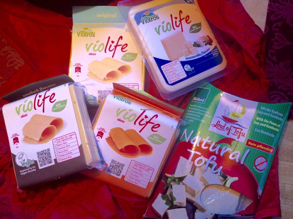 """Photo of Eatwell Foods  by <a href=""""/members/profile/CiaraSlevin"""">CiaraSlevin</a> <br/>Dairy free cheeses and tofu <br/> August 30, 2015  - <a href='/contact/abuse/image/957/115794'>Report</a>"""