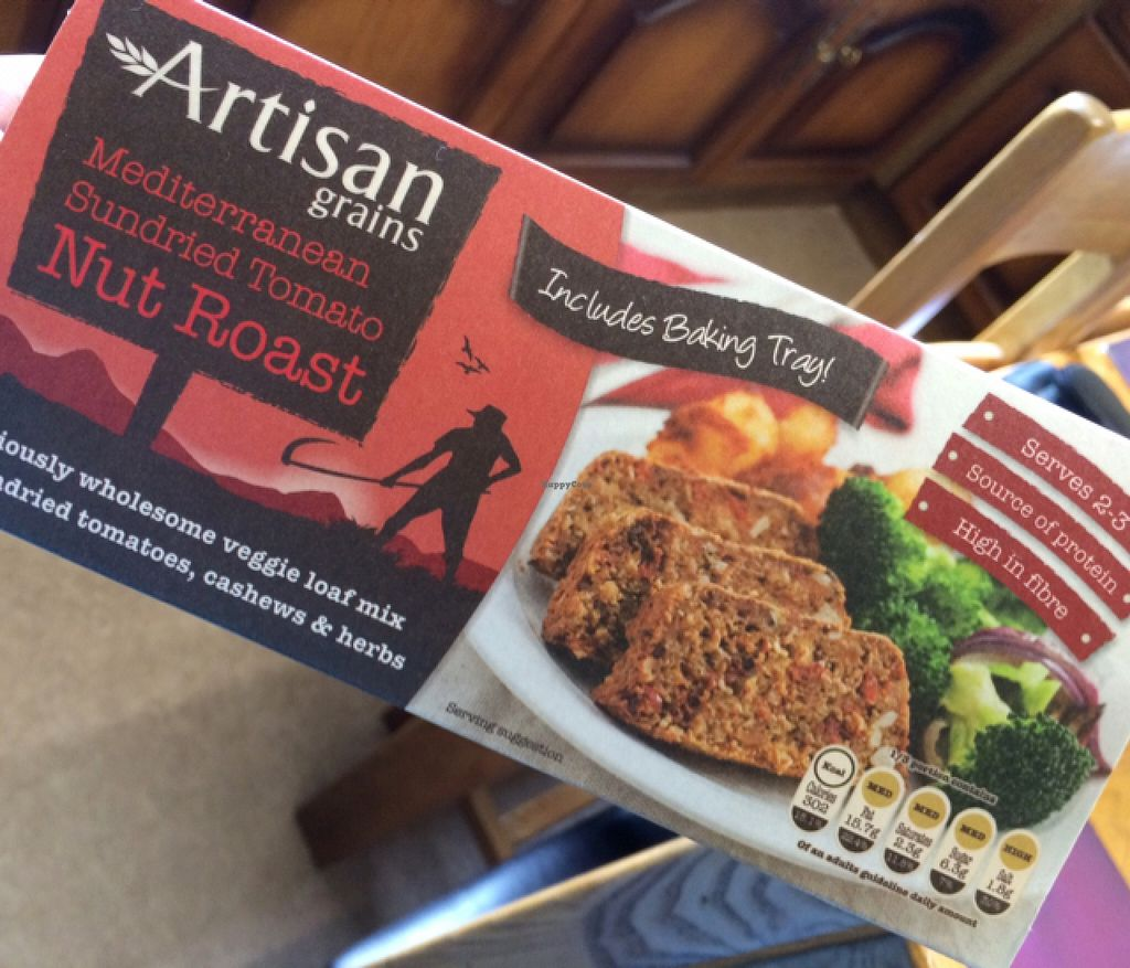 """Photo of Eatwell Foods  by <a href=""""/members/profile/CiaraSlevin"""">CiaraSlevin</a> <br/>Mediterranean Sundried Tomato Nutroast  <br/> September 6, 2015  - <a href='/contact/abuse/image/957/116578'>Report</a>"""