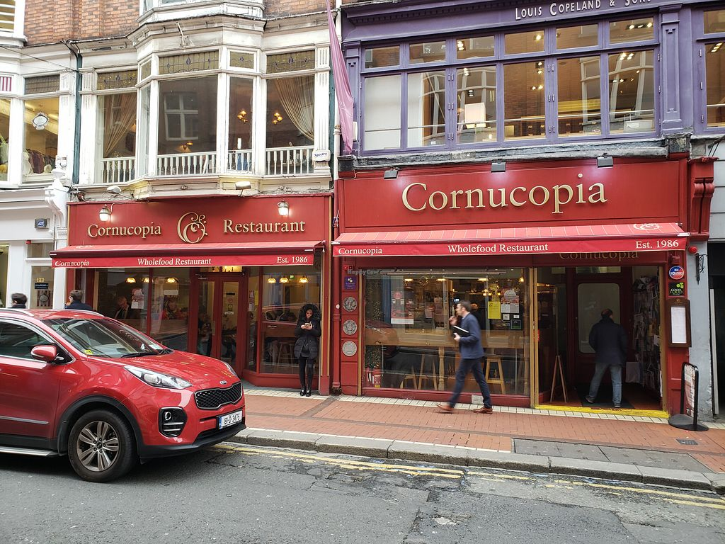 """Photo of Cornucopia Wholefoods  by <a href=""""/members/profile/reuvenk"""">reuvenk</a> <br/>View of the restaurant from the street <br/> April 19, 2018  - <a href='/contact/abuse/image/968/388039'>Report</a>"""