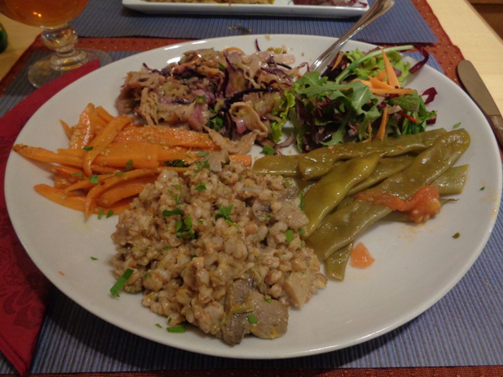 "Photo of Clorofilla  by <a href=""/members/profile/Claremveg"">Claremveg</a> <br/>seitan and salad mixed plate  <br/> August 2, 2015  - <a href='/contact/abuse/image/985/111960'>Report</a>"