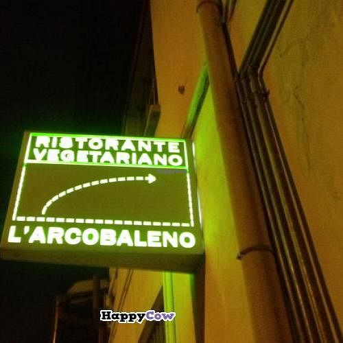 """Photo of L'Arcobaleno  by <a href=""""/members/profile/xFaBx"""">xFaBx</a> <br/>you can see this sign from the cross road <br/> December 25, 2013  - <a href='/contact/abuse/image/988/60857'>Report</a>"""