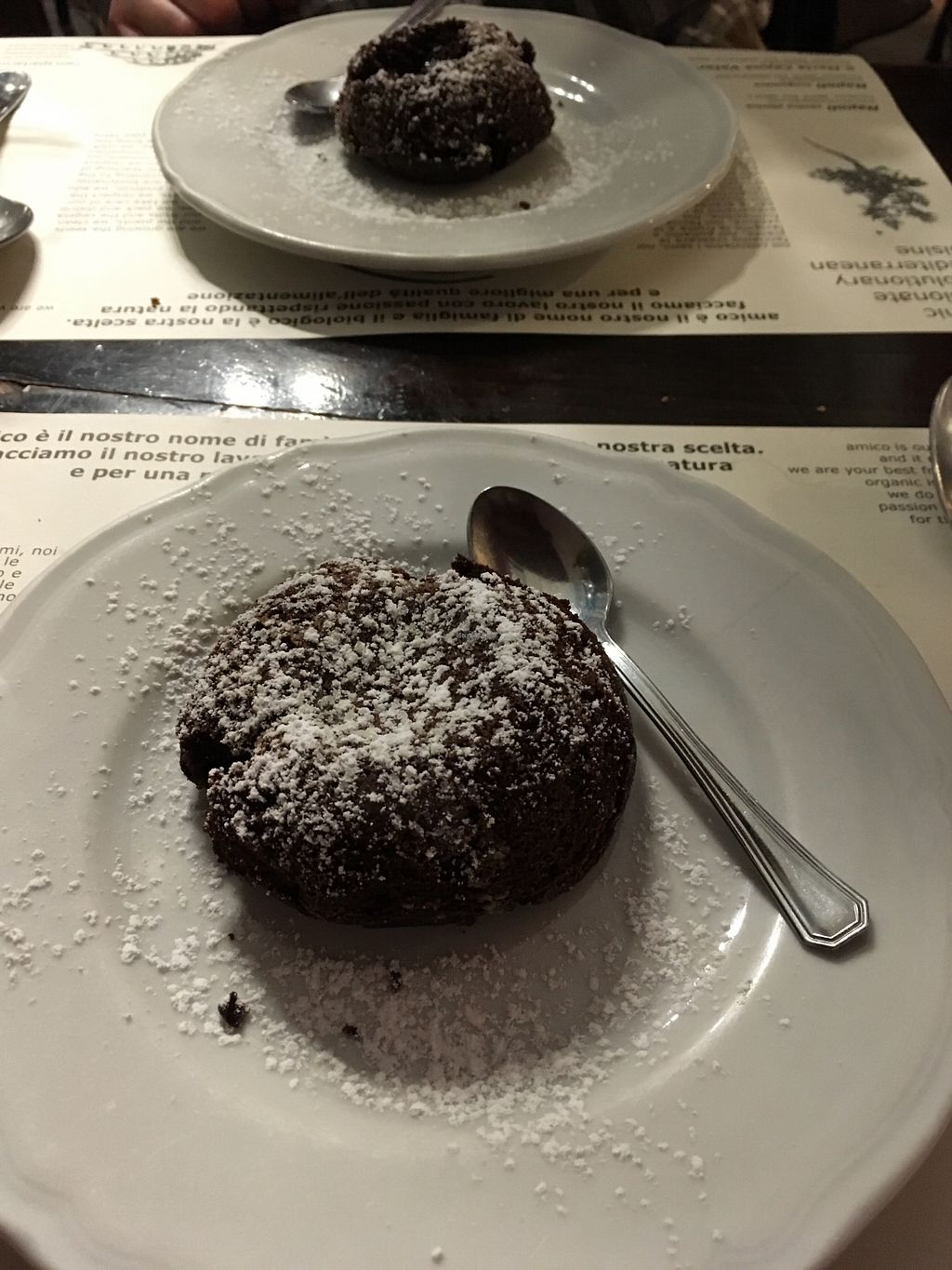 "Photo of Amico Bio - Un Sorriso Integrale  by <a href=""/members/profile/avocado_jess"" class=""title__title"">avocado_jess</a> <br/>Vegan chocolate soufflé <br/> April 2, 2018  - <a href='/contact/abuse/image/999/379940'>Report</a>"