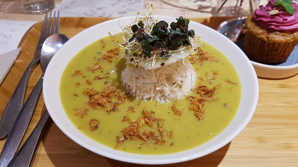 """Photo of Sovaga  by <a href=""""/members/profile/JonJon"""">JonJon</a> <br/>Split pea soup and rice <br/> November 22, 2017  - <a href='/contact/abuse/image/100002/328078'>Report</a>"""