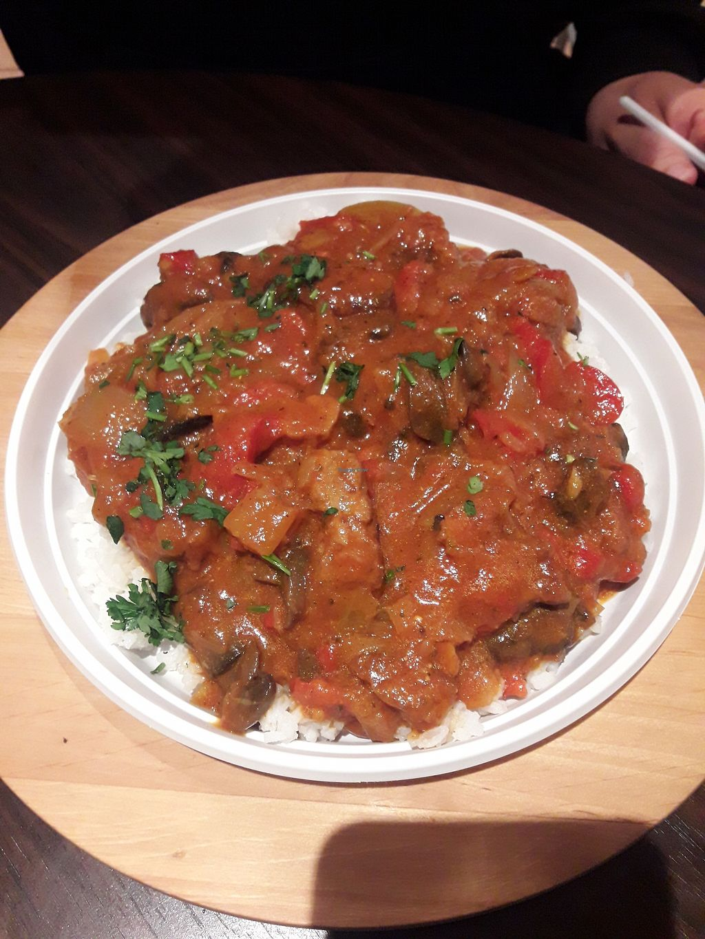 """Photo of Chwirot  by <a href=""""/members/profile/DimitraPontikaki"""">DimitraPontikaki</a> <br/>Stroganov with rice! <br/> March 24, 2018  - <a href='/contact/abuse/image/100005/375580'>Report</a>"""
