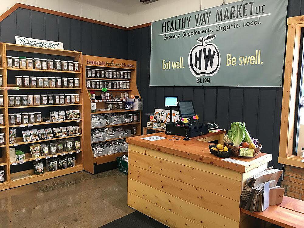 """Photo of Healthy Way Market  by <a href=""""/members/profile/kcwrong"""">kcwrong</a> <br/>Inside <br/> September 2, 2017  - <a href='/contact/abuse/image/100009/299898'>Report</a>"""