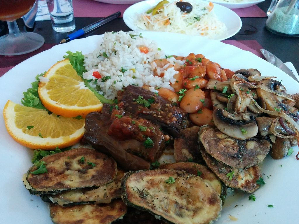 """Photo of Yamas Griechisches Restaurant  by <a href=""""/members/profile/ElisevanDam"""">ElisevanDam</a> <br/>Delicious! <br/> September 3, 2017  - <a href='/contact/abuse/image/100016/300322'>Report</a>"""