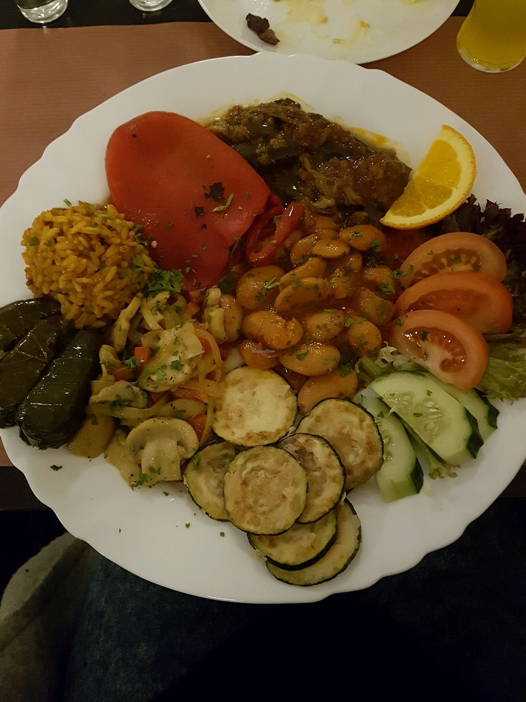 """Photo of Yamas Griechisches Restaurant  by <a href=""""/members/profile/lindamilanie"""">lindamilanie</a> <br/>Vegan dish <br/> November 23, 2017  - <a href='/contact/abuse/image/100016/328481'>Report</a>"""