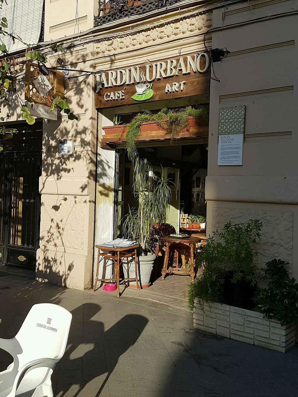 """Photo of Jardin Urbano  by <a href=""""/members/profile/hadarvatury"""">hadarvatury</a> <br/>the outside <br/> September 12, 2017  - <a href='/contact/abuse/image/100021/303723'>Report</a>"""
