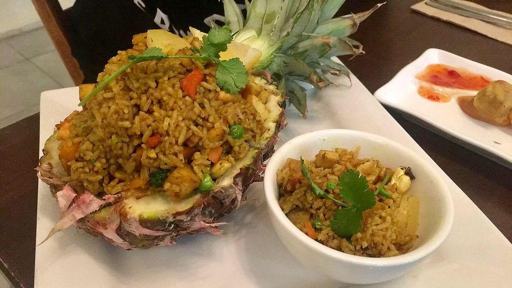 """Photo of Loving Hut  by <a href=""""/members/profile/Purekiwi"""">Purekiwi</a> <br/>Pineapple rice  <br/> October 15, 2017  - <a href='/contact/abuse/image/100035/315335'>Report</a>"""