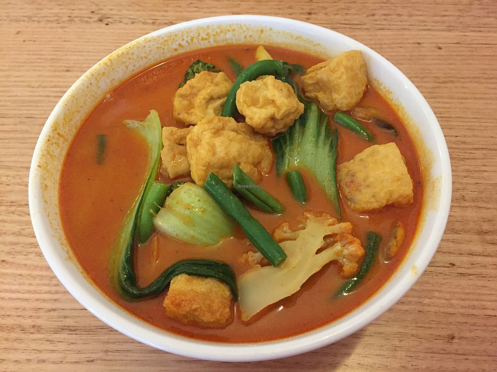 """Photo of Loving Hut  by <a href=""""/members/profile/Wuji_Luiji"""">Wuji_Luiji</a> <br/>Malaysian Curry Laksa <br/> October 27, 2017  - <a href='/contact/abuse/image/100035/319202'>Report</a>"""