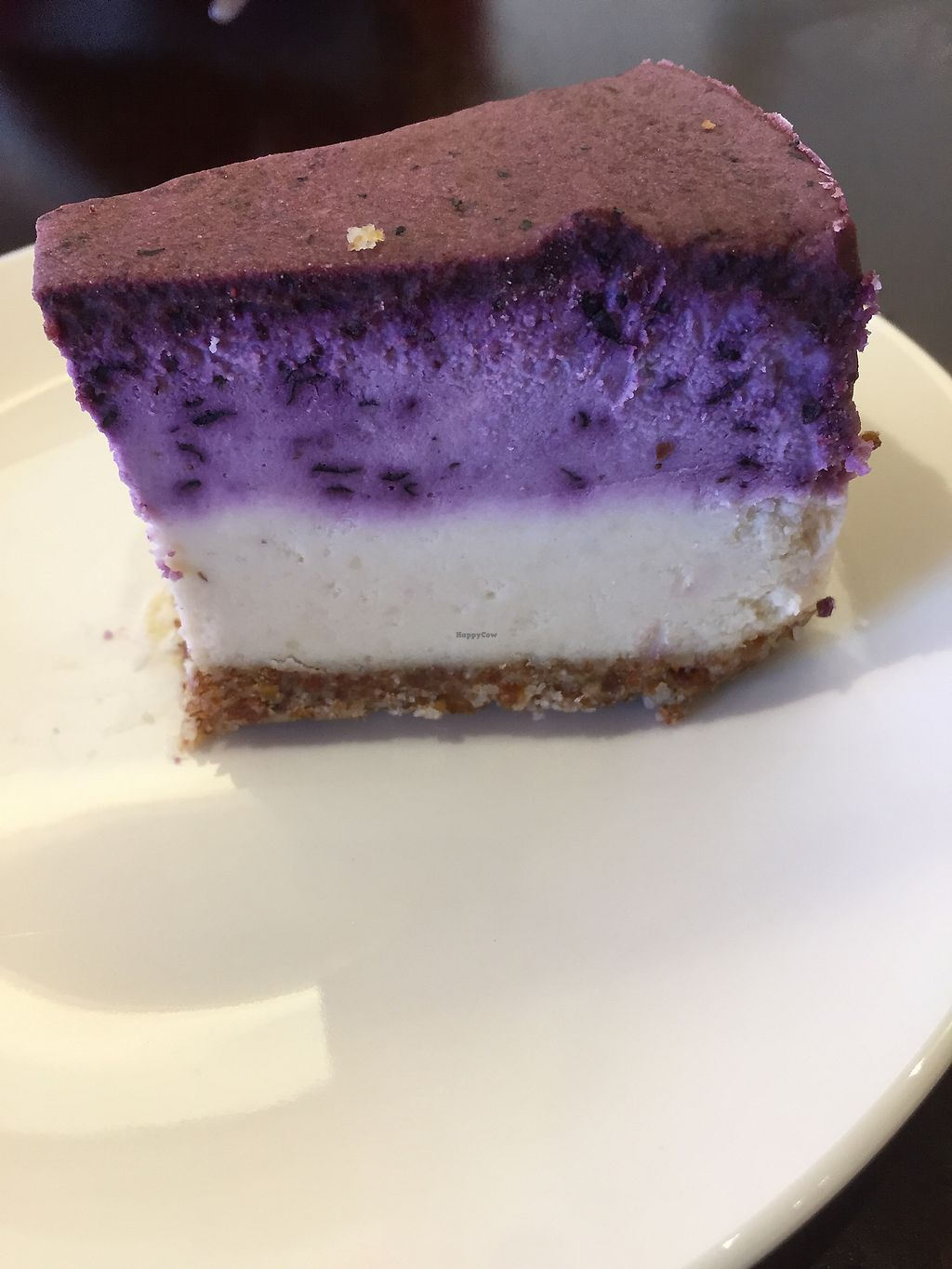 """Photo of Oh My Greens  by <a href=""""/members/profile/bruna.sefrin"""">bruna.sefrin</a> <br/>Vegan cheesecake  <br/> December 10, 2017  - <a href='/contact/abuse/image/100038/334444'>Report</a>"""